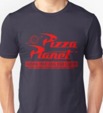 Pizza Planet Slim Fit T-Shirt