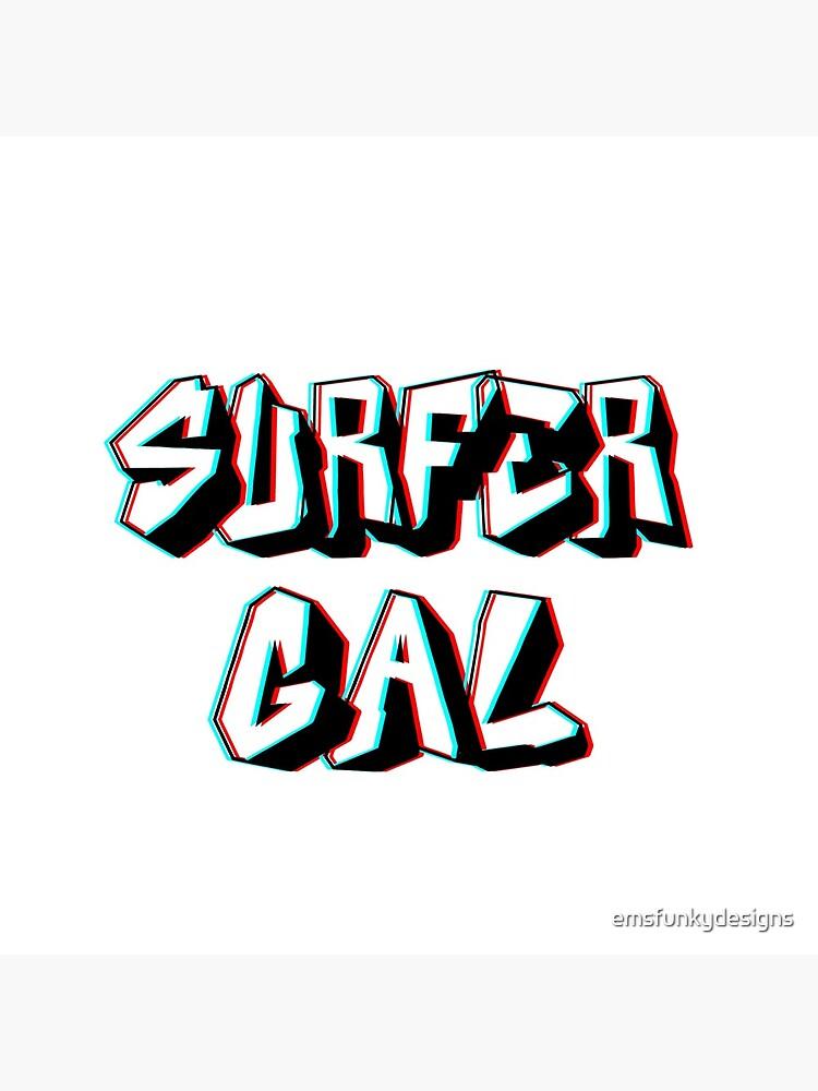 surfer gal ~ subway surfers by emsfunkydesigns