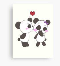 Panda Love!  Canvas Print
