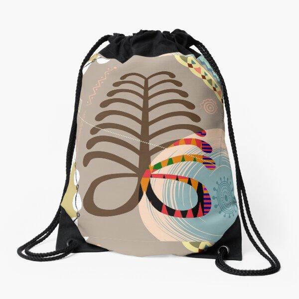 Adinkra AYA Drawstring Bag