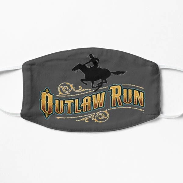 Outlaw Run Silver Dollar City Mask