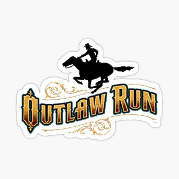Outlaw Run Silver Dollar City Sticker