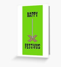 Festivus airing of grievances drawing greeting cards redbubble happy festivus greeting card m4hsunfo