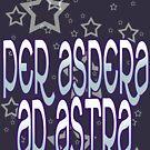 per aspera ad astra! by bristlybits