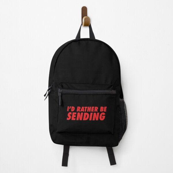 I'd Rather Be Sending Backpack
