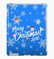 Merry Christmas 2015 iPad Case/Skin