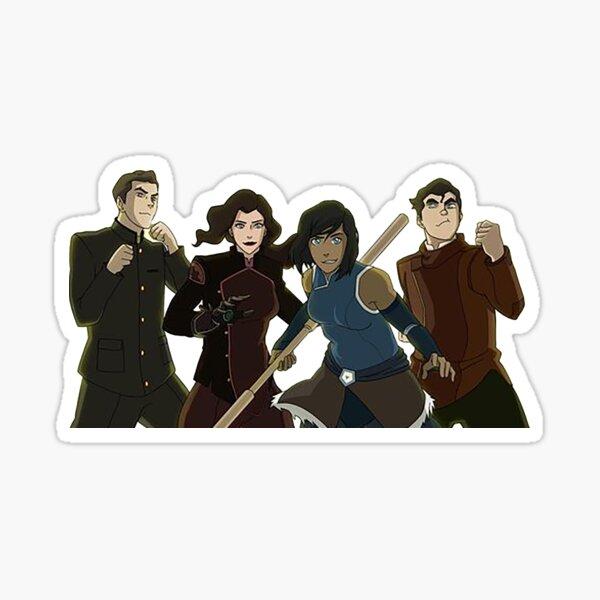 Team Avatar!  Sticker
