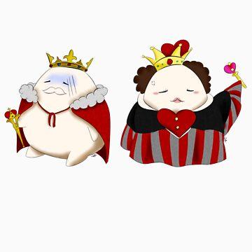 Kingdora And Queendora by joceyart