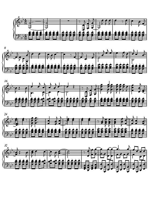 Song song sheet music : Pokemon Theme Song Sheet Music