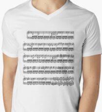 Pokemon Theme Song Sheet Music Men's V-Neck T-Shirt
