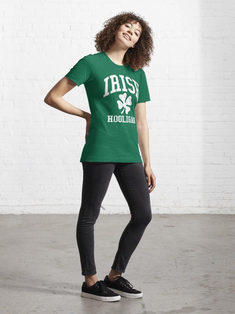 Alternate view of IRISH Hooligan (Vintage Distressed Design) Essential T-Shirt