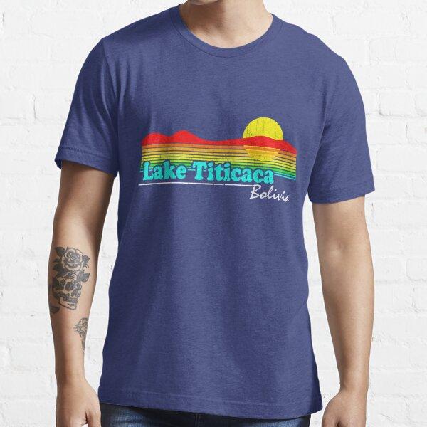 Funny Lake Titicaca, Bolivia (Vintage Distressed) Essential T-Shirt
