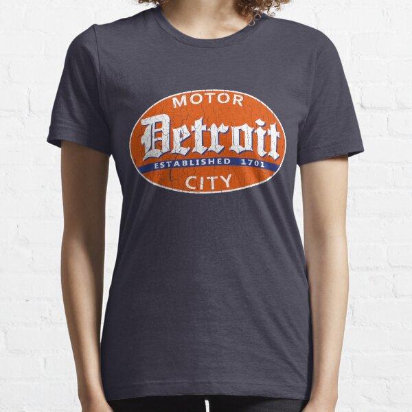 Vintage Detroit (Distressed Design) Essential T-Shirt