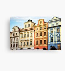 Prague Neighborhood Canvas Print