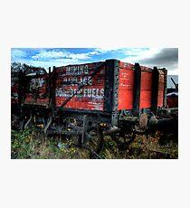 Haulage Waggon Photographic Print