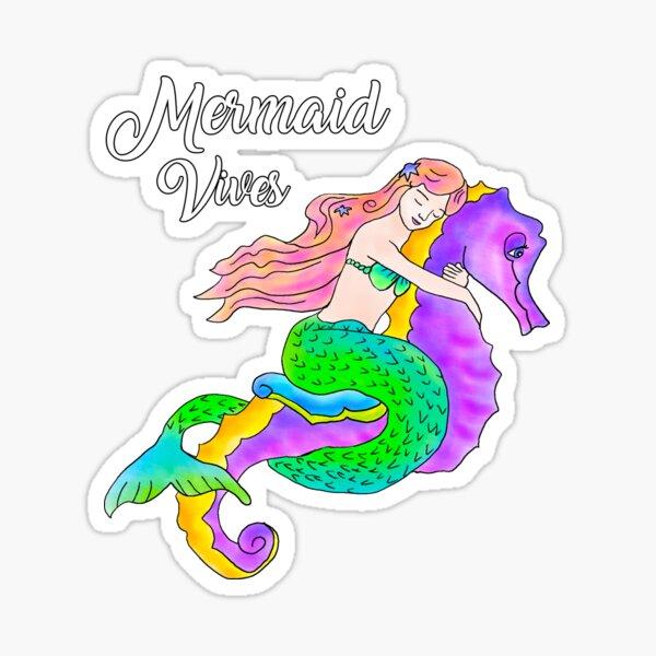 Mermaid Vives Sticker