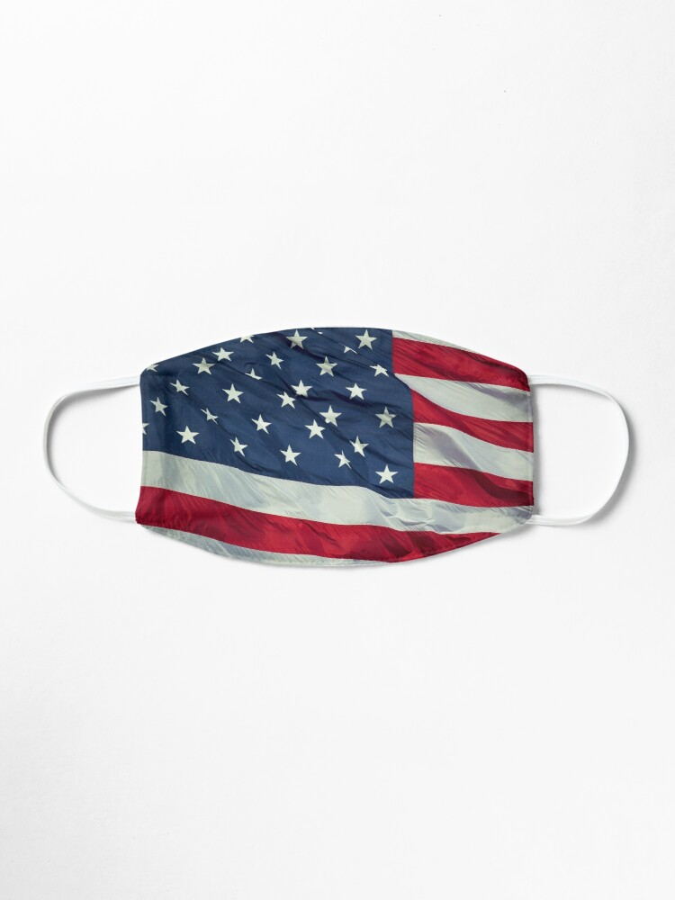 Alternate view of American Flag Mask