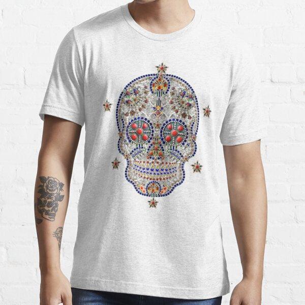 kabyle - Tête de mort- Bijoux Kabyle T-shirt essentiel