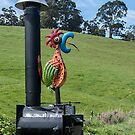 Rooster Letterbox by Josie Jackson