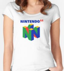 Nintendo 64 Women's Fitted Scoop T-Shirt