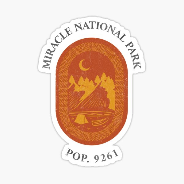 Miracle National Park Tee Sticker
