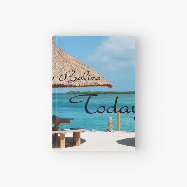 Sun and Sand Belize Hardcover Journal