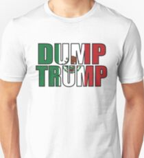 Dump Trump Mexican Flag Unisex T-Shirt