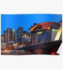 Home Of The Celtics And Bruins Poster