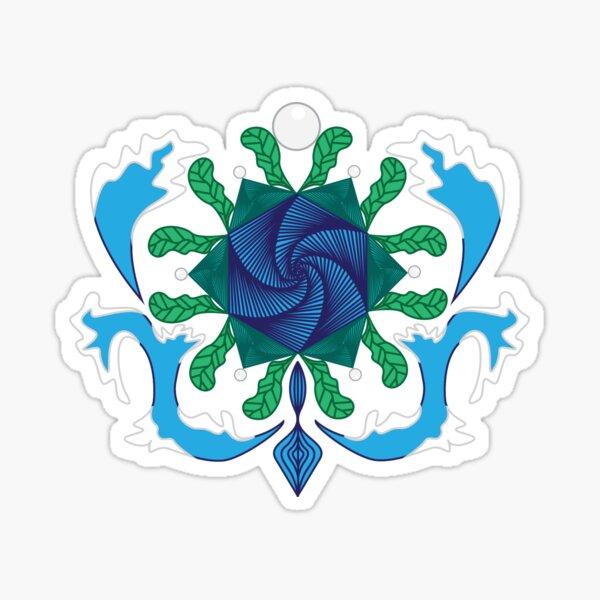 Ocean Vortex Sticker