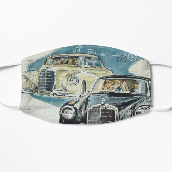 Fabulous Fifties...Mercedes Typ 220 and 300. Flat Mask