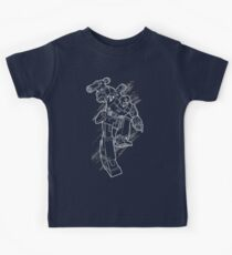 Megatron (line art 2) Kids Tee
