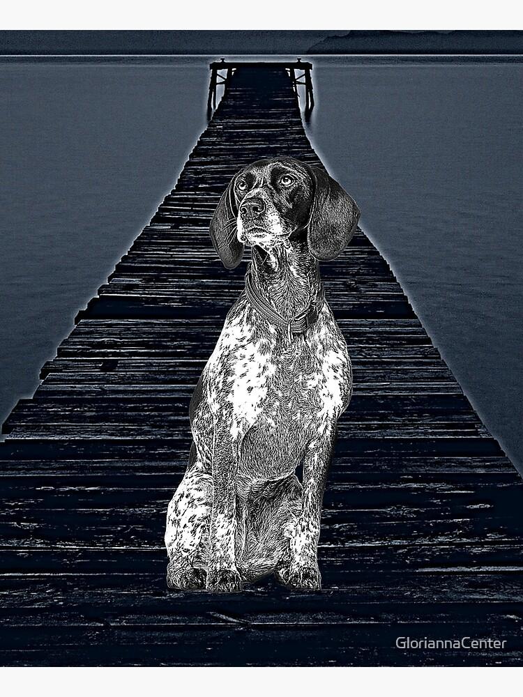 Braque D'Auvergne Dog by GloriannaCenter