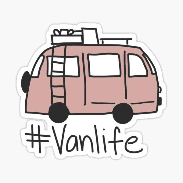 #vanlife Sticker