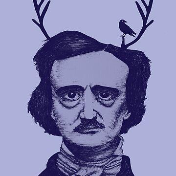 Edgar Allan Poe by lucyanna