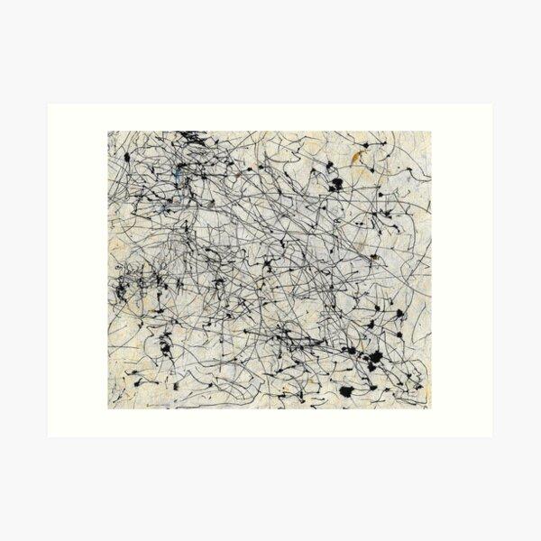 Wind Drawing #005 Art Print