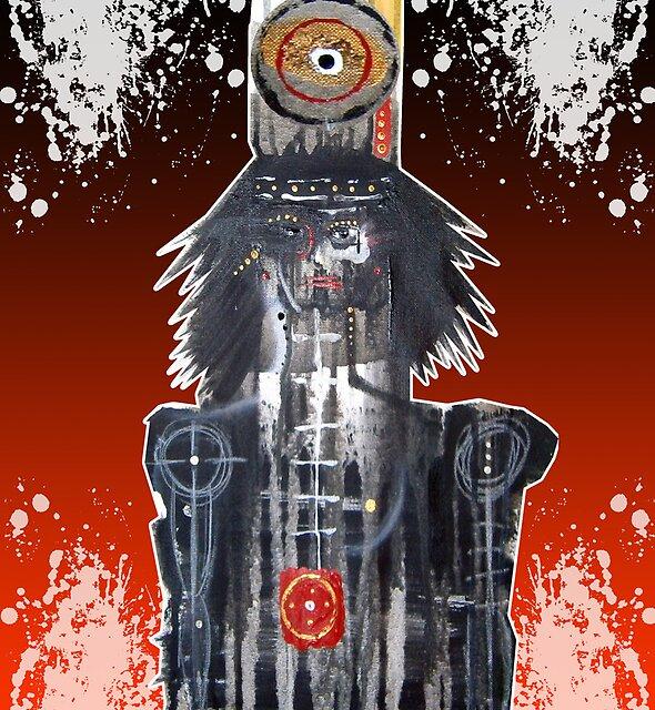 crow bruxa by arteology