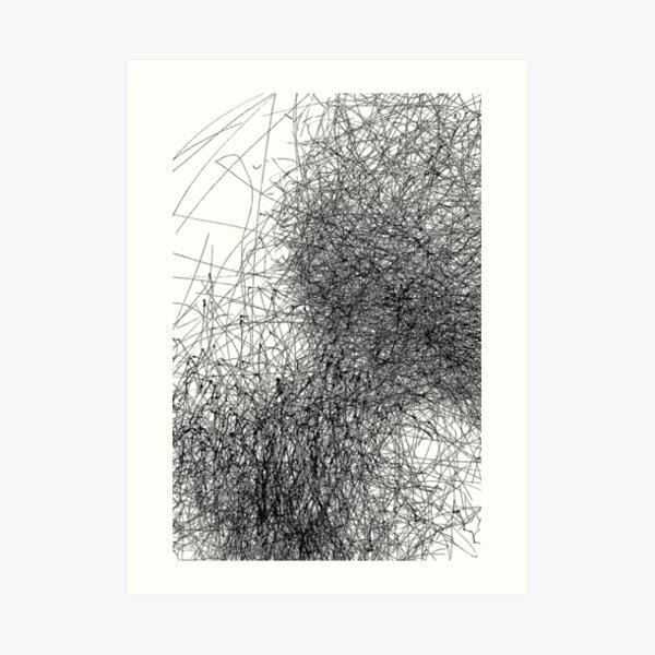 Wind Drawing #020 Art Print