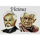 Derek Jacobi & Ian McKellen - Vicious by Margaret Sanderson