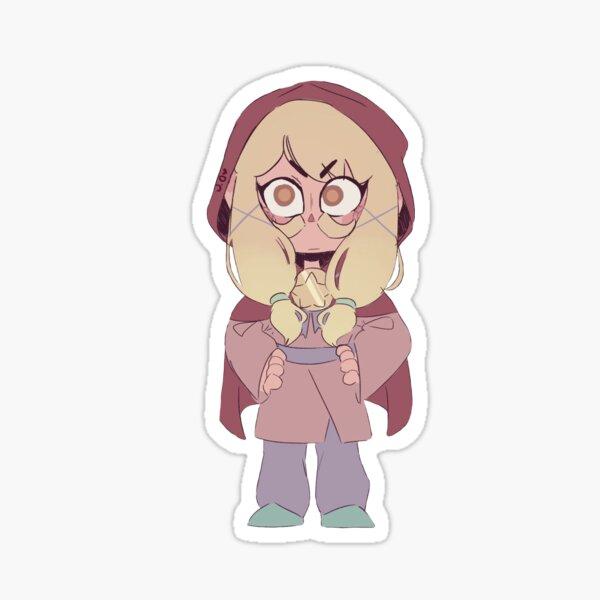 fille mu Sticker