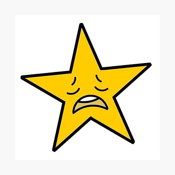 Estrella cansada Lámina fotográfica