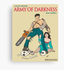 Army Of Darkness - Beige Canvas Print
