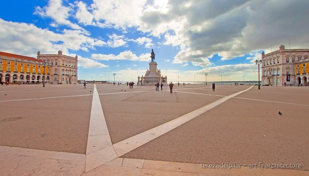 Terreiro do Paço II by terezadelpilar ~ art & architecture