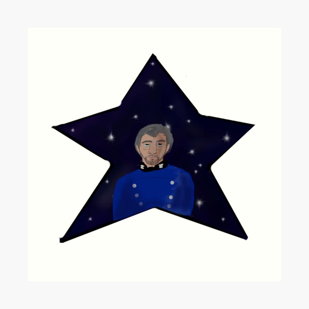 Estrellas Lámina artística