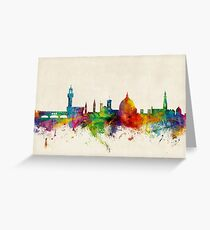 Florence Italy Skyline Greeting Card