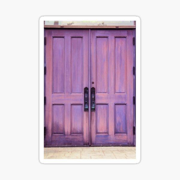 Royal Doors Sticker