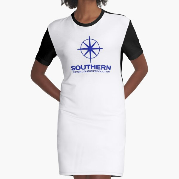 BEST SELLING Southern Television Graphic T-Shirt Dress