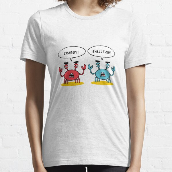 Crabby and Shellfish Essential T-Shirt
