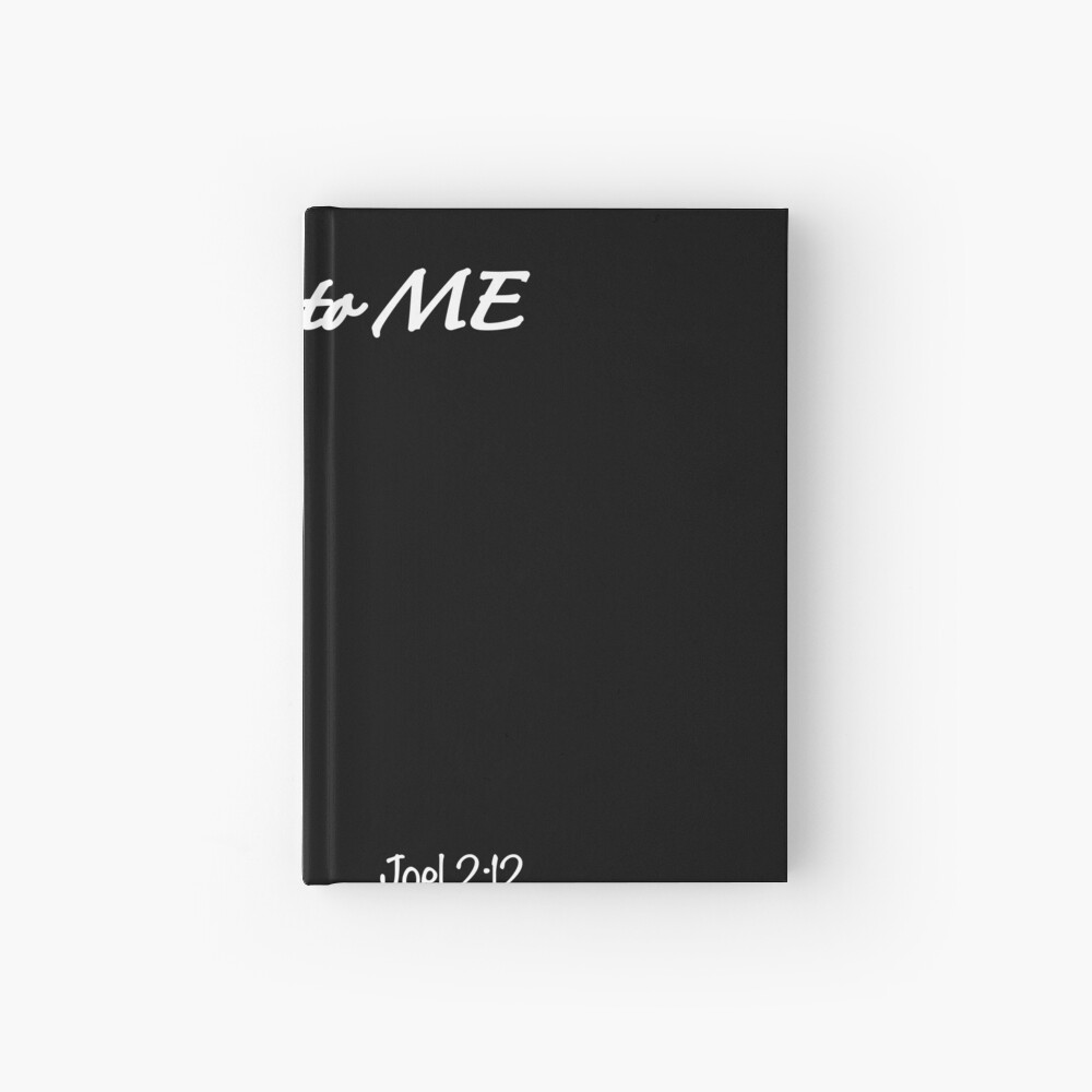 Return to Me Vertical Logo Hardcover Journal