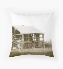 """""""I'LL HUFF AND PUFF AND BLOW YOUR HOUSE DOWN!"""" Throw Pillow"""