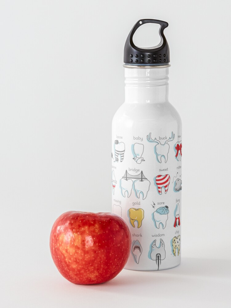 Alternate view of Dental Definitions Water Bottle